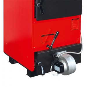 Poza Centrala termica pe lemne cu regulator automat MAKTEK MKK - 1