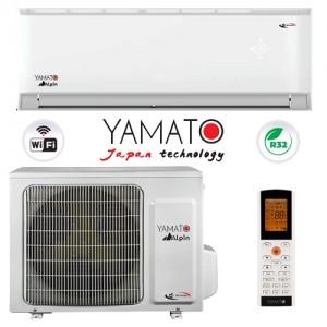Poza Aparat aer conditionat YAMATO Alpin Inverter YW24IG5 WIFI R32 A++ 24000 BTU