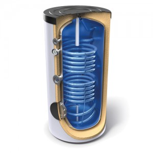 Poza Boiler TESY cu 2 serpentine EV 10/7 S2 300 65 F41 TP2 - 300 litri