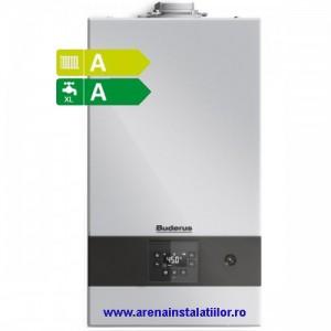 Poza Centrala termica cu condensare Buderus Logamax Plus GB 122 24/30 - ( incalzire + a. c. m )