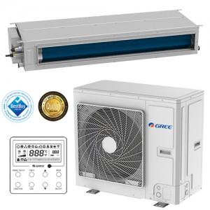 Poza Aparat de aer conditionat tip duct Inverter Gree Ultra Thin GUD140PH/A-T-GUD140W/NhA-T 48000 BTU