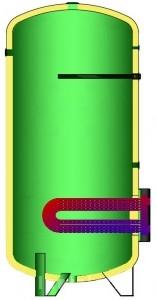 Poza BOILER SOLAR CU SERPENTINA BF-1