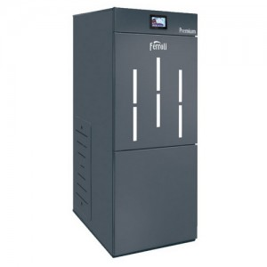Poza Centrala termica pe peleti Ferroli Biopellet Premium 24 - 24 kW