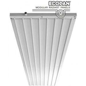 Poza Panouri radiante pe apa ECOPAN 6 tevi 150 mm 1/2