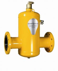 Poza Separator de aer otel Spirotech Spirovent BA 300F 110°C 10 bar DN 300 racordare prin flansa