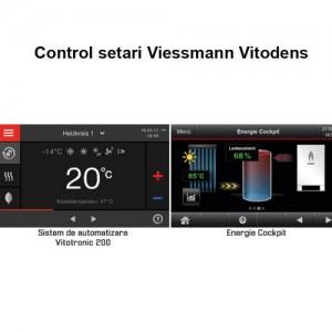 Poza 3 Centrala termica cu afisaj digital 3.5 inch Viessmann Vitodens 200-W 32 kW