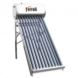 Poza Panou solar presurizat FERROLI Ecoheat 12 cu 12 tuburi vidate si boiler inox 120 litri