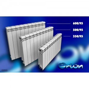 Poza 1 Radiator aluminiu LIPOVICA Orion 350/95 10 elementi