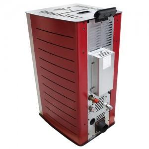 Poza Termosemineu centrala pe peleti Fornello Premium W22 Bordeaux 22 kW. Poza 59120