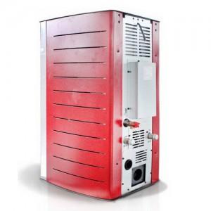 Poza Termosemineu centrala pe peleti Fornello Premium W22 Bordeaux 22 kW. Poza 59122