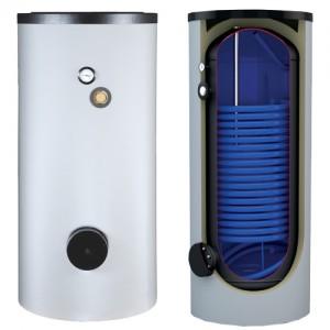 Poza Boiler pentru pompa de caldura cu serpentina marita AUSTRIA EMAIL HRS 900 - 900 litri