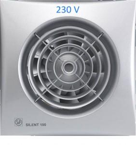 poza Ventilator baie Soler & Palau SILENT-100CZ Silver - Φ100 - 230V - 95 m3/h