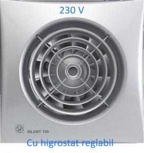 poza Ventilator baie Soler & Palau SILENT-100CHZ Silver - Φ100 - 95 m3/h