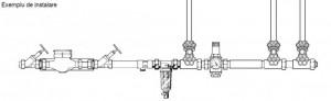 Poza Honeywell FF06 1 AA schema montaj