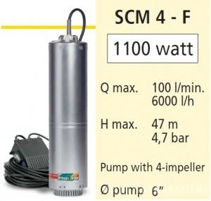 poza Pompa submersibila casnica Speroni SCM4