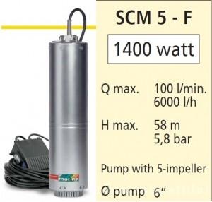 poza Pompa submersibila casnica Speroni SCM5