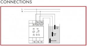 Poza Releu de nivel SCHRACK UR5L 1021 conexiuni