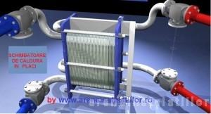 Poza Schimbator de caldura cu placi ALFA LAVAL T2 - schema