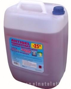poza Antigel concentrat termodinamic aditivat -25ºC 20 kg