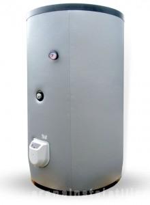 poza Boiler solar cu 2 serpentine si rezistenta electrica ELDOM 750 litri