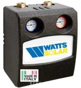poza Grup de pompare pentru sisteme solare WATTS Flow Box Solar 8010 E16 - 16 L/min