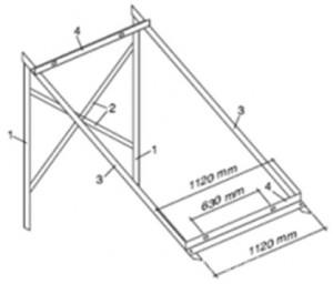 poza Kit montaj terasa panou plan Prosunpro STC