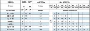 Poza tabel speroni